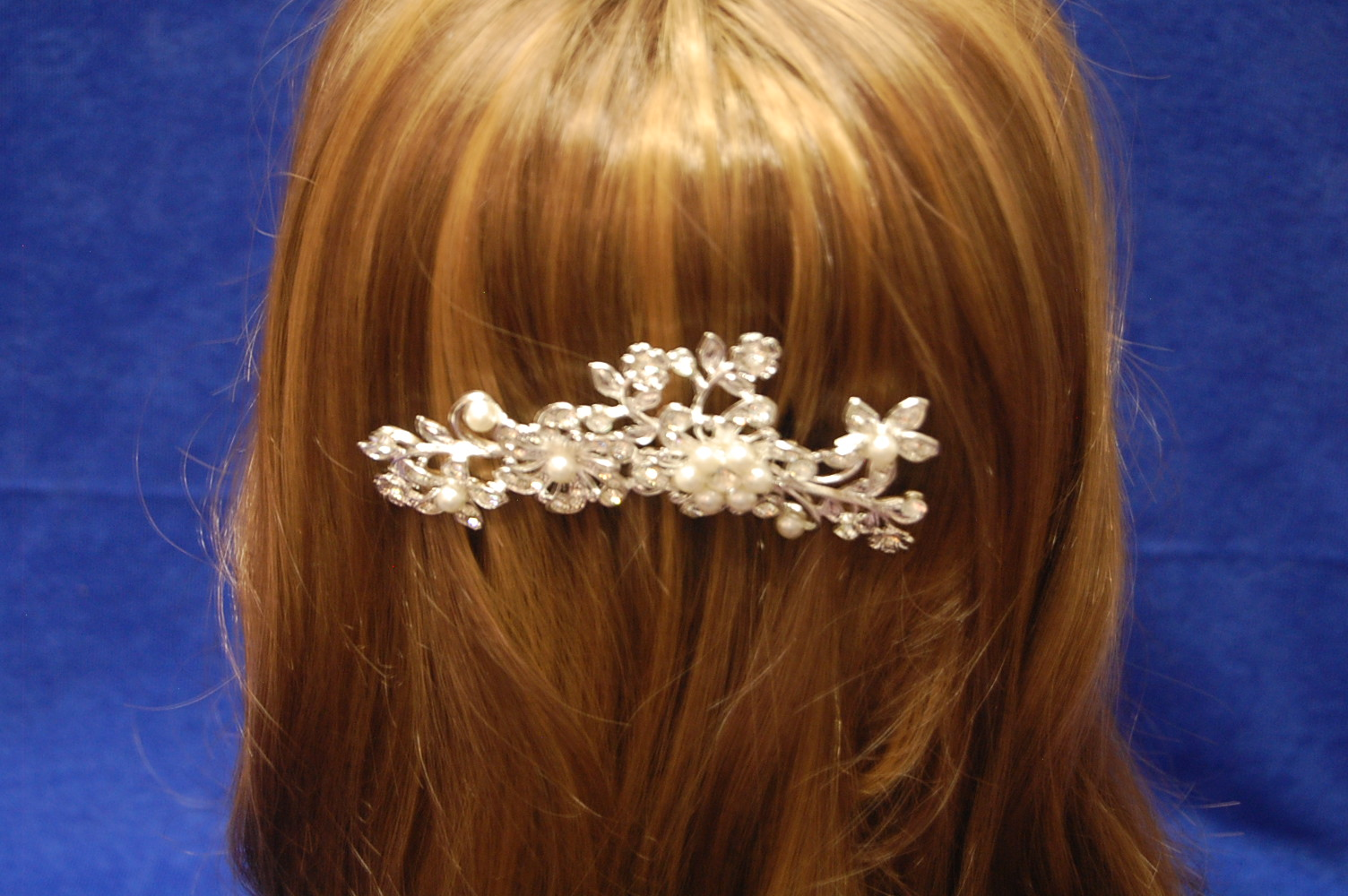 Hair slide wedding